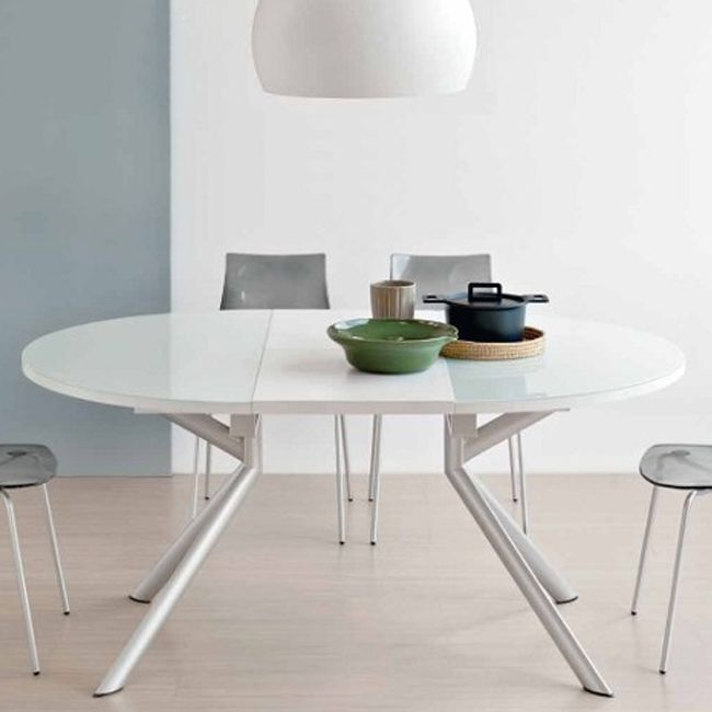 Tavolo Giove Calligaris.Connubia By Calligaris Giove Extending Glass Table