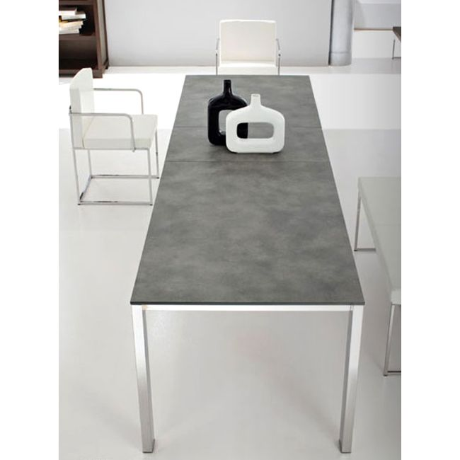 Connubia by Calligaris Baron laminate Extendible table 180x100 cm