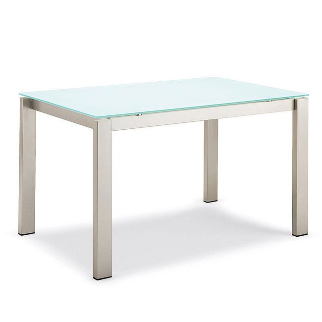 Consolle Calligaris Baron.Connubia By Calligaris Baron Glass Extensible Table 110 155 Cm Rectangular Legs