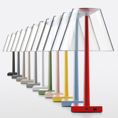 Lamp with rechargeable battery Multifunctional Table Rotaliana Dina + LED 7W H 37 cm