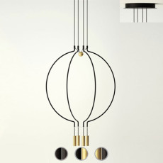Axo Light suspension lamp Liaison P4 LED 30W Ø 56.5 cm