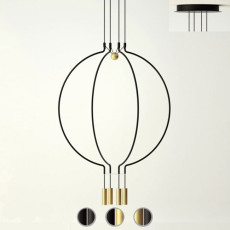 Axo Light suspension lamp Liaison M4 LED 30W Ø 84.5 cm