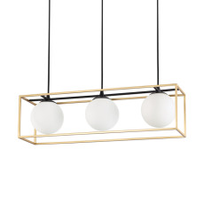 Ideal Lux Suspension Lamp Lingotto 3 Lights E14 L 70cm