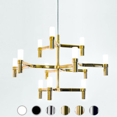 Nemo suspension lamp Crown Minor 12 luci G9 QT-14 L 77x67 cm