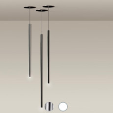 Nemo suspension lamp Canna Nuda Metallo LED 6.2W Ø 3 cm