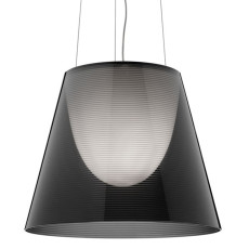 Flos Pendant Light KTribe S3 Ø 55 cm 1 Light Fume'