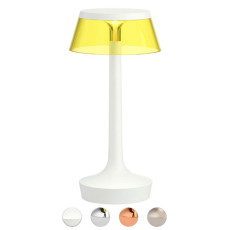 Rechargeable battery lamp Table lamp Flos Bon Jour Unplugged LED 2.5W H 27 cm Yellow
