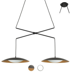 Faro double extensible suspension lamp Slim LED 30W L 80-145 cm