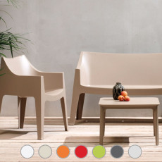 Scab chair Coccolona, stackable, fireproof, suitable for outdoor