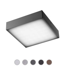Ares Wall/Ceiling lamp Beta LED 3W L 11,8 cm IP65 Outdoor