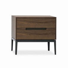 Bonaldo Bedside table with two drawers Gala H 55 cm
