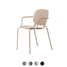 Scab Si-Si Chair with armrest L 62 cm