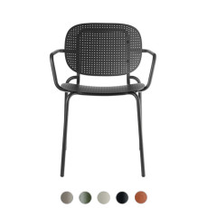 Scab Si-Si Dots Chair with armrest L 62 cm