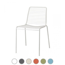 Scab Stackable chair SUMMER H 80 cm For indoor and outdoor use