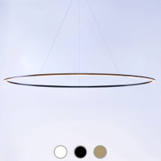 Nemo suspension lamp Ellisse Pendant Mega LED 85W L 186 cm dimmable