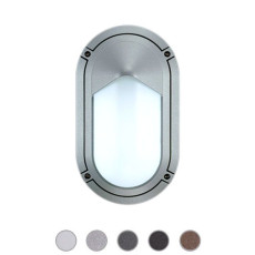 Ares Wall/Ceiling lamp Sam 1 Lights E27 L 15 cm IP65 Outdoor