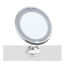 Tomasucci Magnifying mirror with suction cup Round LED Ø 20,5 cm