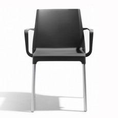 Scab chairs with armrests Chloé Mon Amour, stackable, also for garden