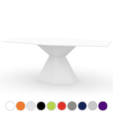 Vondom Table Vertex L 180 cm For indoor and outdoor use