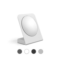 Lineabeta 5X magnifying mirror with support and container - various colors