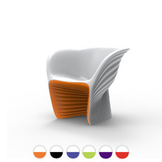 Vondom Lounge chair Biophilia Bicolor L 91 cm For indoor and outdoor use