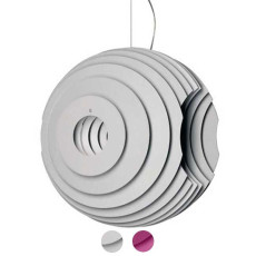 Foscarini Pendant lamp Supernova 1 light E27 L 50 cm