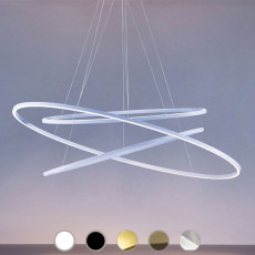 Nemo suspension lamp Ellisse Triple LED 90W L 135 cm dimmable