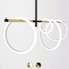 Marchetti Suspension lamp Ulaop LED 46W L 120 cm