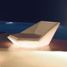 Vondom Daybed bright Smart LED RGBW DMX with remote control Faz L 180 cm