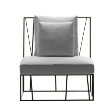 Driade armchair Hervé H 88 cm For indoor and outdoor use