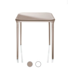 Magis square table Air Stackable and removable L 65 cm, Also for outdoor use