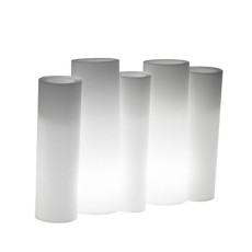 BAMBOO Light Ext. POT cm 100 x 33 h80 LIGHT WHITE