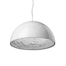 Flos Suspension lamp Skygarden 1 1 Light 105W Ø 60 cm White