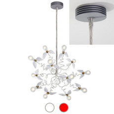 Ingo Maurer Pendant lamp Birdie 12 lights LED E27 Ø 70 cm