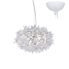 Kartell Bloom Suspension lamp  3 lights Ø 28 cm IP20 Crystal
