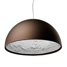 Flos Suspension lamp Skygarden 2 1 Light E27 Ø 90 cm Rust