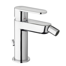 Paffoni Bidet mixer with automatic pop-up waste Candy H 14.7 cm