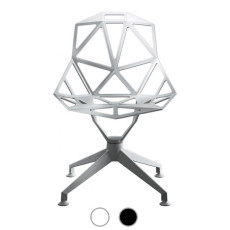 Magis not swivel chair Chair One 4 Stars H 84 cm outdoor