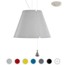 Luceplan Pendant Lamp Costanza 1 Light E27 Ø 40 cm