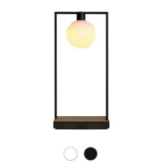 Artemide Container table lamp Curiosity 36 Sphere LED 3000K rechargeable with step dimmer