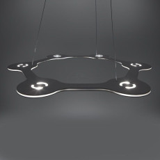 Lumen Center FLAT RING 6 Suspension lamp LED 39W  Ø 63 cm Dimmable