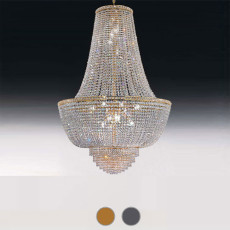 Empire Settat chandelier Ø 31 cm Voltolina style 5 lights E14