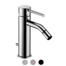 Paffoni Bidet mixer with automatic pop-up waste Light H 16.2 cm