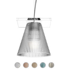 Kartell Pendant Lamp  Light-Air L 14 cm 1 Light E14