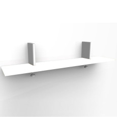 Magis white shelf for Spike L 25 x 120 cm