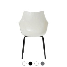 Driade Meridiana Chairs with armrests H 83.5