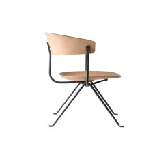 Magis Low Chair Officina L 76cm Structure in Galvanized