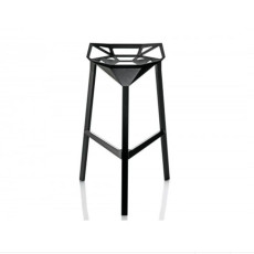 Magis Stool One Fireproof Stackable H 74 cm, Also for outdoor use