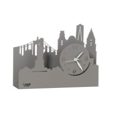 Arti e Mestieri Table clock with the Statue of Liberty N.Y.C.