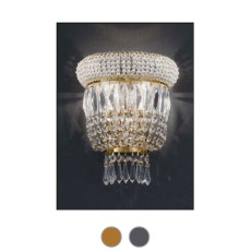 Settat Empire Wall Lamp L 16 cm Voltolina Style 2 E14 lights